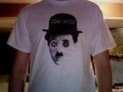 Image of T-shirt: Dylan Connor/Charlie Chaplin