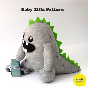 Image of Baby Zilla Pattern (PDF)