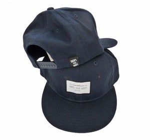 "Image of SEN NO SEN snapback cap ""proudly made in Europe"""