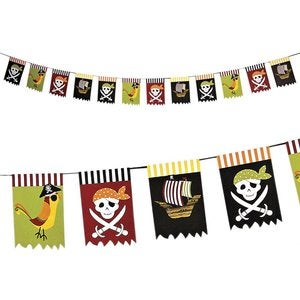 Image of Guirlande Yo Ho Ho it's a Pirate party