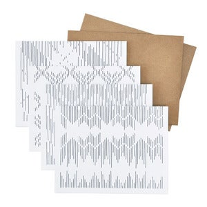 Image of Textile Card Set