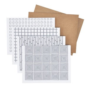 Image of Geometric Card Set