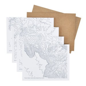 Image of Topographic Card Set