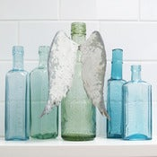 Image of Angel Wings Bottle Decoration