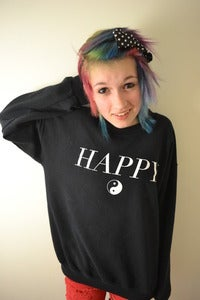 Image of Happy (Crewneck Sweatshirt)