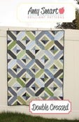 Image of Double Crossed quilt pattern PDF