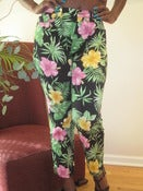 Image of Ralph Lauren Flower Print Cropped Pants