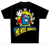 Image of Mr Wide Awake T-Shirt [Black]