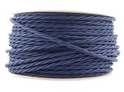 Image of NAVY BLUE | fabric lighting flex cable | TWIST