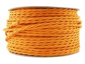Image of ORANGE | fabric lighting flex cable | TWIST