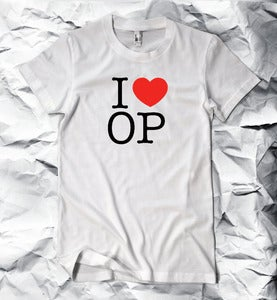 Image of I HEART OP T-shirt