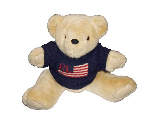 Image of Vintage RL Teddy Bear