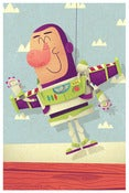 Image of Buzz Lightyear Mini Print