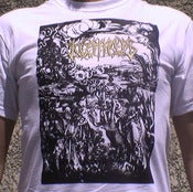 Image of KOSMOS - &quot;From Innocence To Perversity&quot; SHIRT (GOLD LOGO)