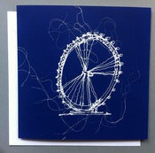 Image of 'London eye' greetings card