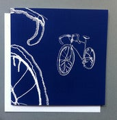 Image of 'Bicycle' Greetings card