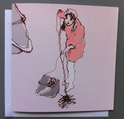 Image of 'Kath mops' Greetings card