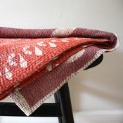 Image of Vintage Indian Kantha Bedspread Throw