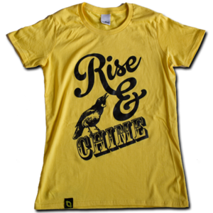 Image of Womens 'Rise &amp; Chime' T-shirt