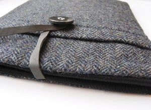 Image of Tweed 3 Ipad case 100% Wool Harris Tweed,