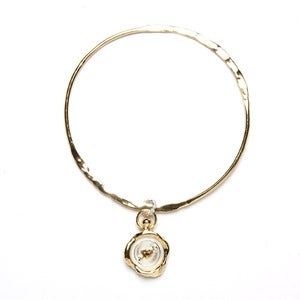Image of Mini Heart Wax Seal Bangle