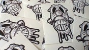 Image of We Are Rollers 10 Pack Of Gasmask Stickers