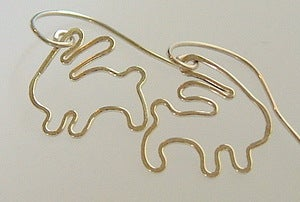 Image of Bunny Earrings
