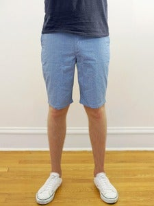 Image of Japanese Chambray Angus Young Shorts