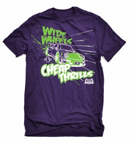 Image of Wide Wheels &amp; Cheap Thrills Graphic T-Shirt - Formula D Limited Edition