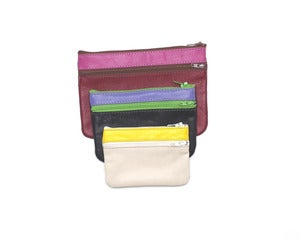 Image of CHANGE PURSE - Recycled Zip-Up Wallet