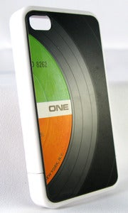 Image of Record 4/4S Phone case w/Single Panel