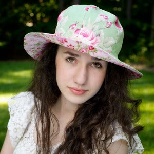 Image of Womens Sun Hat Pattern - Reversible Sunhat