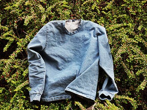 Image of light denim sweater - 1st edition