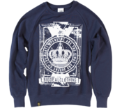 Image of 2012 Kings & Queens Of The Party Scene Sweater - Navy