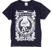 Image of 2012 Stay Young, Live Free T-shirt - Navy