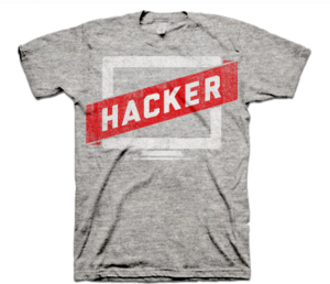 Image of Hacker Tee - Gray