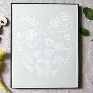 Image of Veggie Love Print