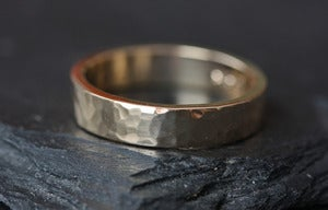 Image of Unisex 14kt Yellow Gold Band-5mm