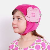 Image of hats - pink flower