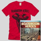 Image of Boardroom Heroes - Another Year CD/T-Shirt Combo