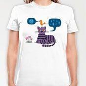 Image of The Conversation - Womens Fitted T-shirt / Womens Tee