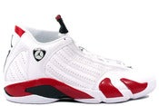 Image of Air Jordan Retro 14 - White/Varsity Red-Black