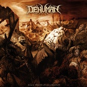 Image of DEHUMAN &quot;Black Throne of all Creation&quot; LP