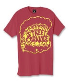 Image of Street Carnage x Saved Tattoo (Red w/ Yellow Print)