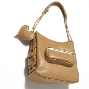 Image of CORKED SATCHEL