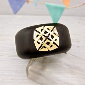 Image of Wood and Gold Trianon Cuff