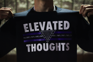 Image of etc! - Elevated Thoughts Crewneck (black)
