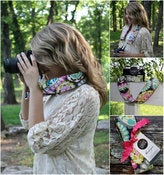 Image of Roco Beat Paisley Camera Strap Cover
