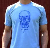 Image of Blue Skull T-Shirt