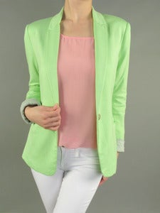 Image of Mint Green Blazer